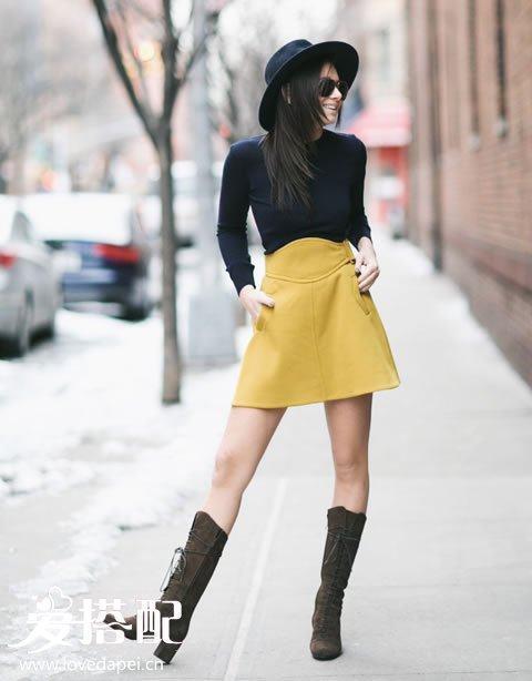 半身裙款式_对于半身裙, 高雅女性应当拥有这6件经典样式