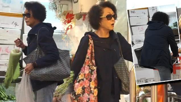 76岁TVB老戏骨息影后当主妇 去街市买菜依然走路带风