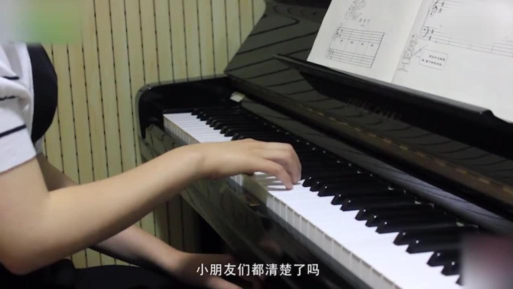 简谱与五线谱的弹奏06