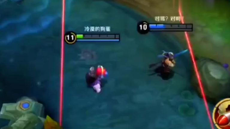搞笑王者荣耀: 李白看到这么多线懵逼,我和队友必死一个怎么办?