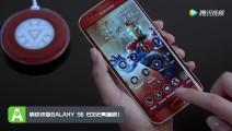 钢铁侠版Galaxy S6 Edge亮瞎眼!