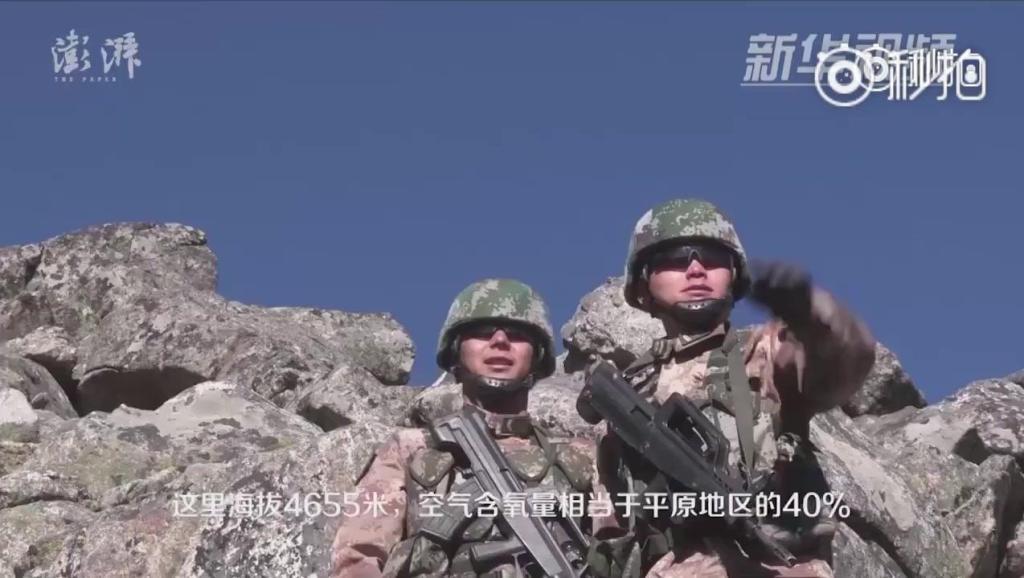 西藏亚东的詹娘舍边防哨所,海拔4655米: 只为一份守护