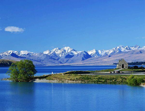 风景名胜: 新西兰的南岛