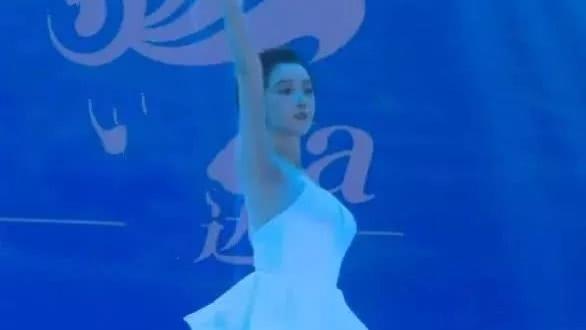 """叫陈小云穿""""纸巾裙"""", 就算是生图, 都是那么的美 有一种美,"""