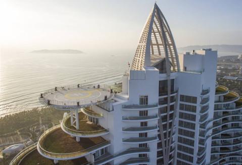 悉地智造   海风中的舞者: 三亚海棠湾红树林酒店设计