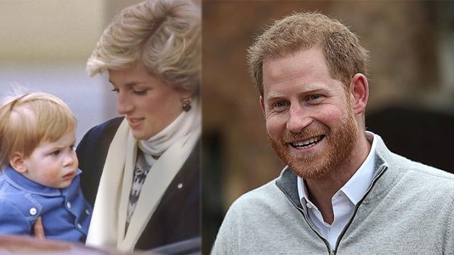 声明低调向戴妃致意哈里长子没有皇室头衔