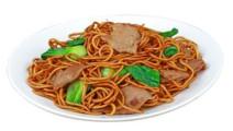 特色小吃,回锅肉炒面,味道十足