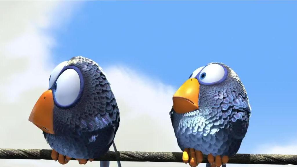 奥斯卡最佳动画短片---鸟的故事
