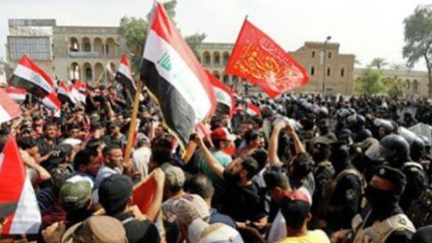 10万青年人集体抗议, 军队直接对人群开枪射击 美国大使馆被围,
