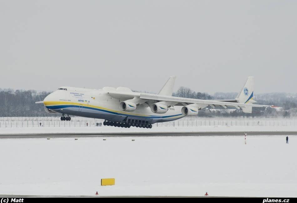 大飞机欣赏: 安-225到底有多大?
