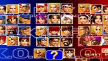 欧阳华北 拳皇98 隐藏BOSS强到变态 必杀还是很精彩的