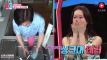 同床异梦2: 韩国市长在洗碗台洗拖地布,被女主持人轮番指责