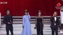 明星慈善夜,黄渤刘涛王凯白百合同台献唱《我的未来不是梦》,林志玲在台下认真拍照