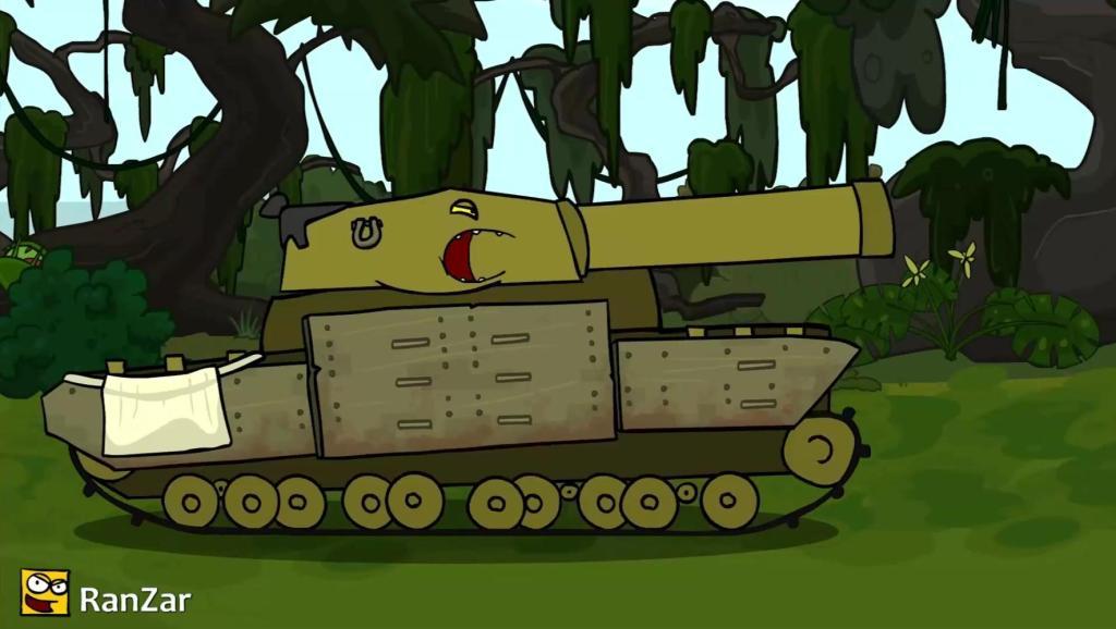 坦克世界 爆笑动画 No.