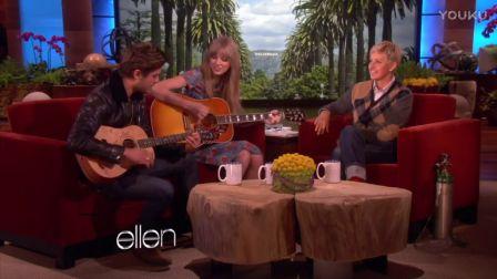Taylor Swift 艾伦秀吉他弹唱