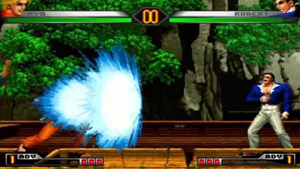 拳皇98UM: 坂崎良必杀技演示,比街霸红白人大10倍的波动拳