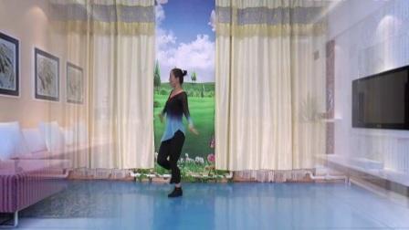 塔河蓉儿广场舞《欢乐的跳吧》民族舞附有分解教学 附背面教学