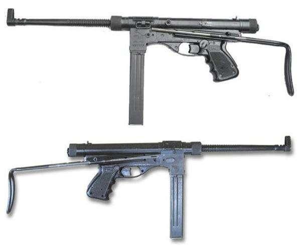 枪管让人联想到汤普森冲锋枪