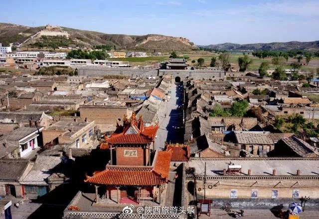《平凡的世界》里的拥有500年历史的古镇--高家堡镇