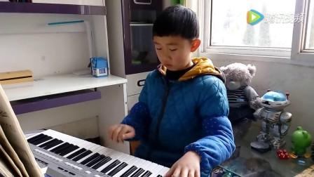电子琴独奏:步步高