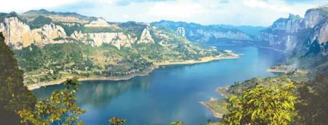 毕节河流风景图