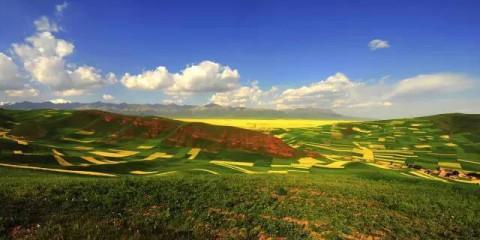 这是戈壁漠北风沙连绵数千里的寥寂古道, 十月最美的西北风景线!