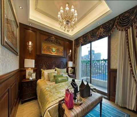 如果客厅等其他部分的装修设计都是欧式风格,而阳台却设计成田园风格