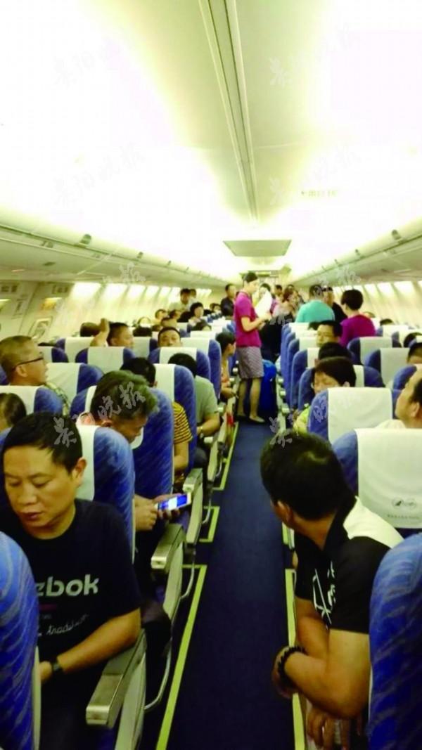 贵阳飞往揭阳的飞机上乘客突发癫痫 紧急备降广州