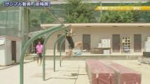 日本体育老师训练_跳远腾空步技术_这想象力可以