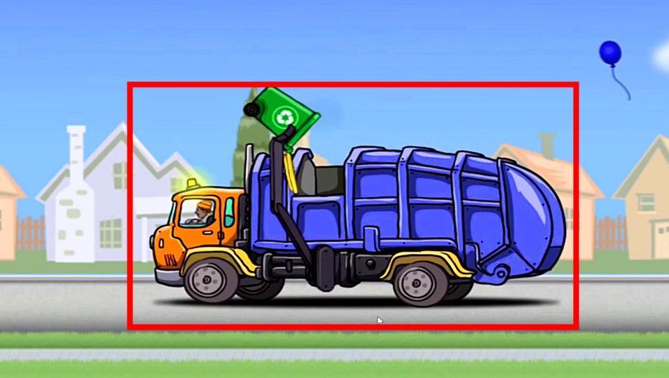 垃圾车 简笔画 视频