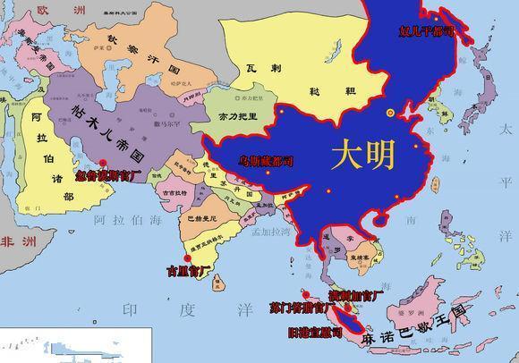 古代中国得版图是不是扩张到极限了