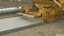 德国的自动化混泥土铺路机械设备,真厉害!