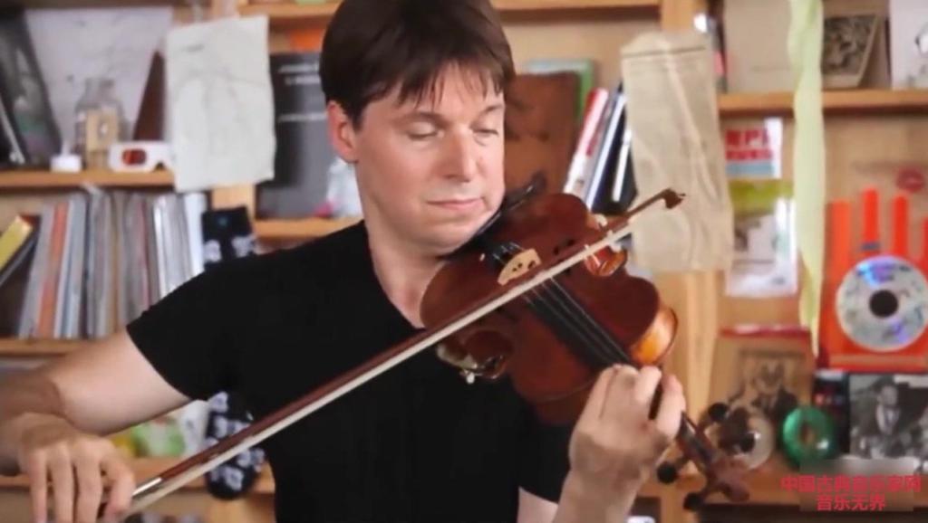 音乐无界: 古典音乐巨星约书亚贝尔演奏: 勃拉姆斯匈牙利舞曲1号