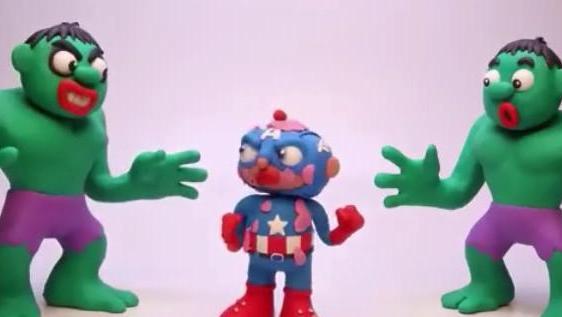 蜘蛛侠恶搞爆笑动漫 魔法镜变出另一个绿巨人到处捣蛋 小丑抢玛莎的棒棒糖被蜘蛛侠捆绑