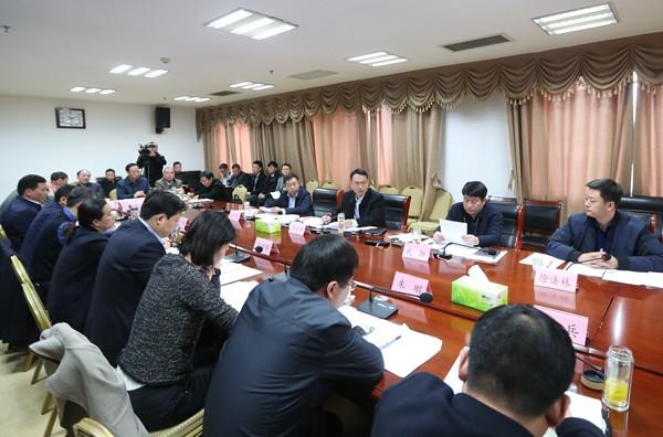 泗洪县长办公会议研究部署近期重点工作
