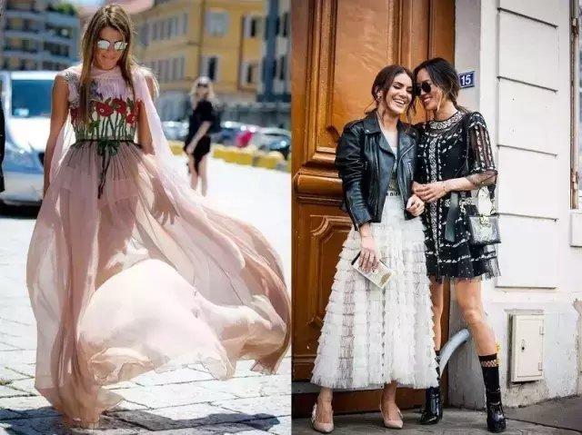 今夏仙气十足的纱裙才是主流, 因为显瘦 32