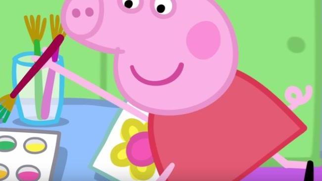 打开 小猪佩齐 佩奇在幼儿园教乔治画小花 广告 0 秒 详细了解 > 00:0