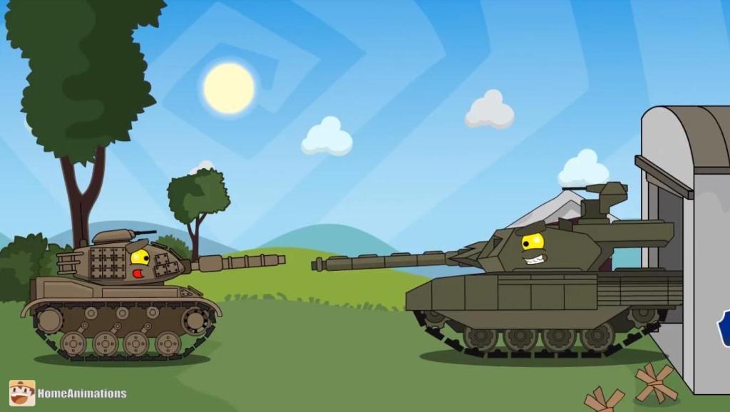 坦克世界搞笑 超级魔改?WZ132硬是改成了99式?