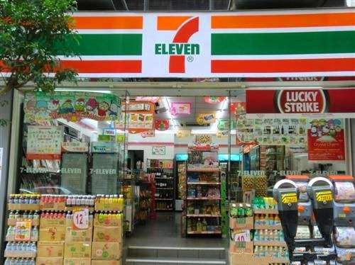 泰国的7 11便利店的魔性存在