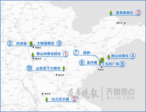 国庆小长假山东出行指南: 泰山和台儿庄景区自驾最热