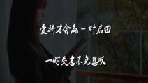 经典老歌: 叶启田一曲《爱拼才会赢》,曾引万人大合唱,太经典了