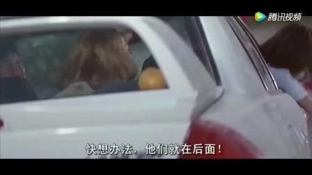 成龙被杀手追杀,女司机飘移技术太牛了