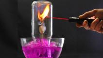 五大有趣的科学小实验 你知道其中的原理吗