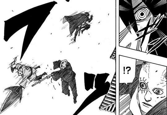 火影忍者: 佐助轮回眼退化, 瞳术比写轮眼还弱, 用剑刺穿鸣人