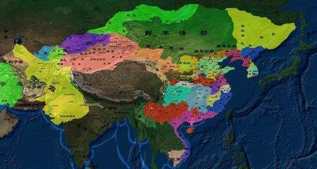 三国州郡地图高清-东汉末年十三州行政图/三国荆州/到