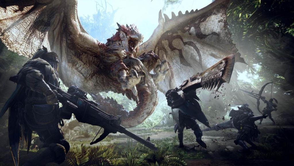 机枪加爆破,怪物猎人世界变成射击游戏了?