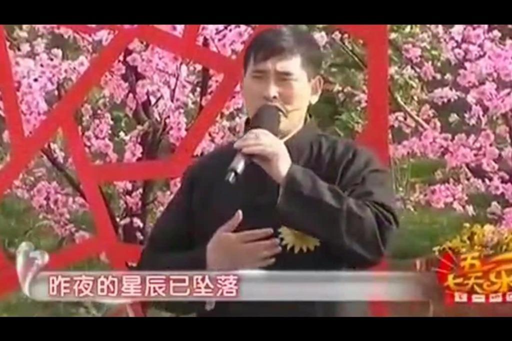 朱之文演唱《昨夜星辰》,这才是真正的歌手!