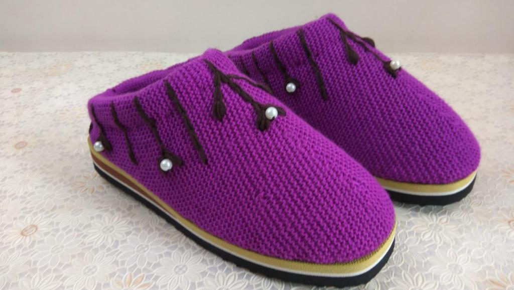 编织小屋 120---龙鞋宝宝鞋
