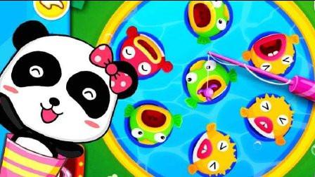 宝宝巴士 宝宝学水果和创意手指画 宝宝巴士动画片