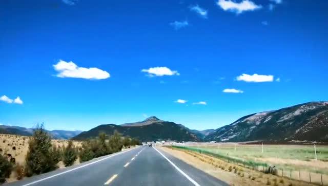 亚丁之旅之二十二 乘车下山沿途风景